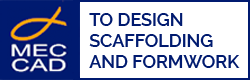 Logo of MEC CAD scaffolding software developer