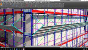 pon cad european frame scaffolding
