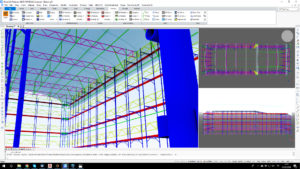pon cad scaffolding design bim 3d