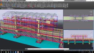 Scaffolding for Bridge Maintenance