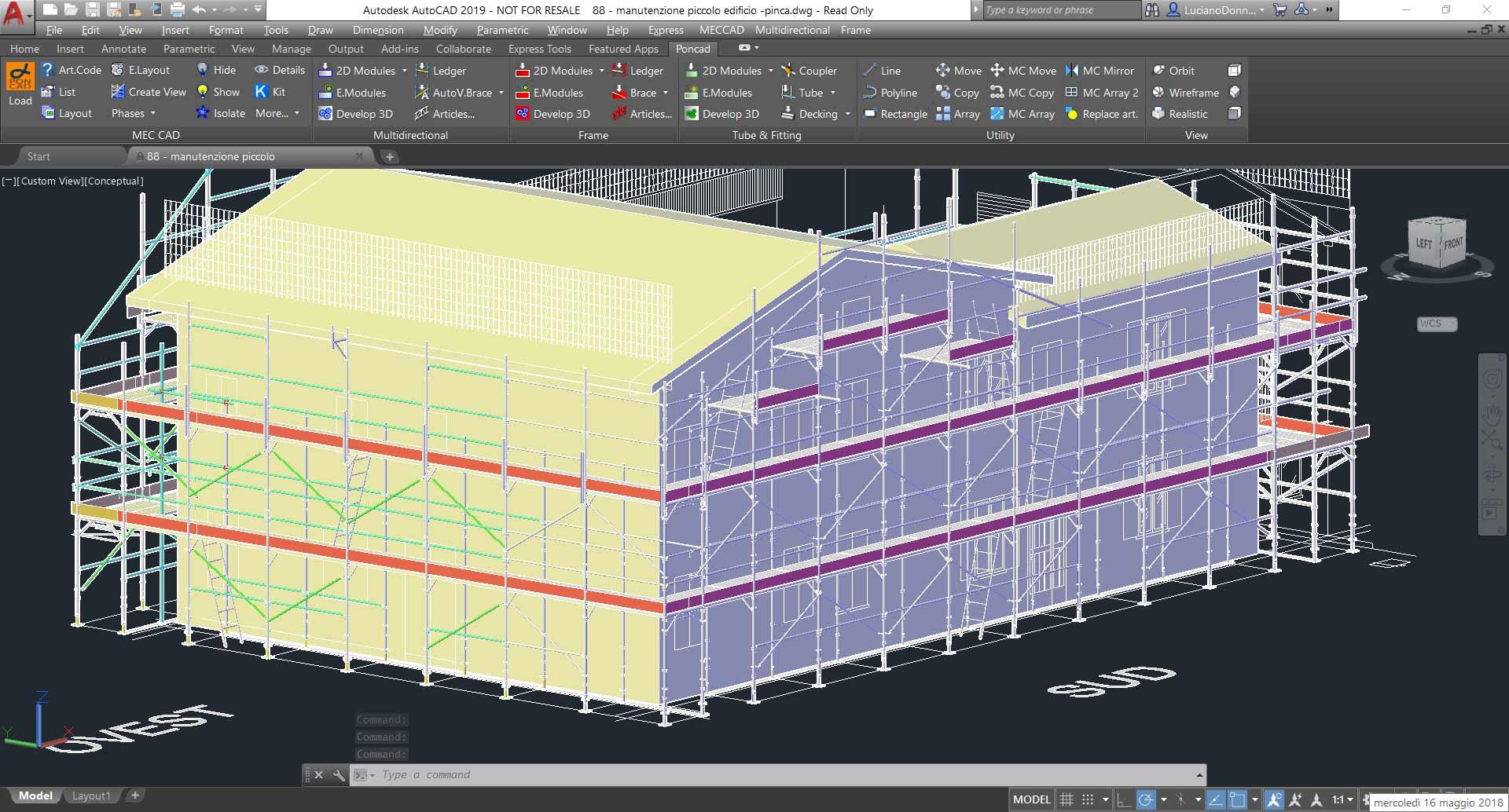 scaffolding designer software to design  u0026 estimate