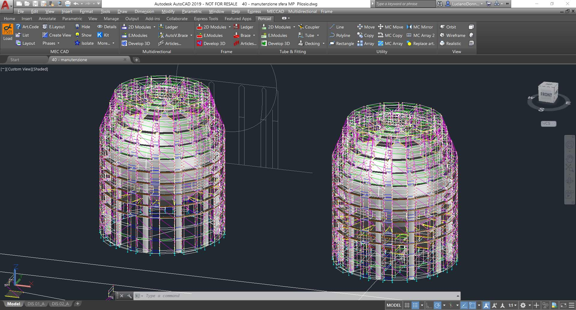 Scaffolding Designer software to Design & Estimate projects in CAD