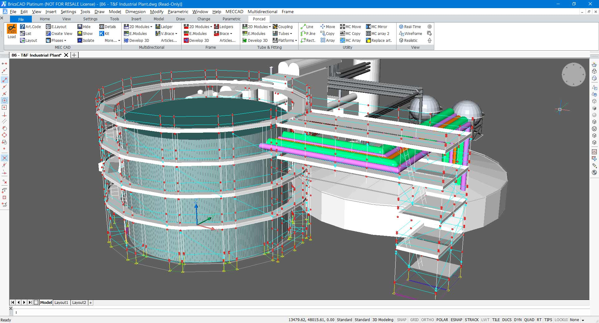 Scaffolding Designer software to Design & Estimate projects