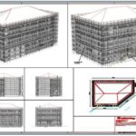 PON CAD Design Camerlenghi Palace Scaffolding in Venice