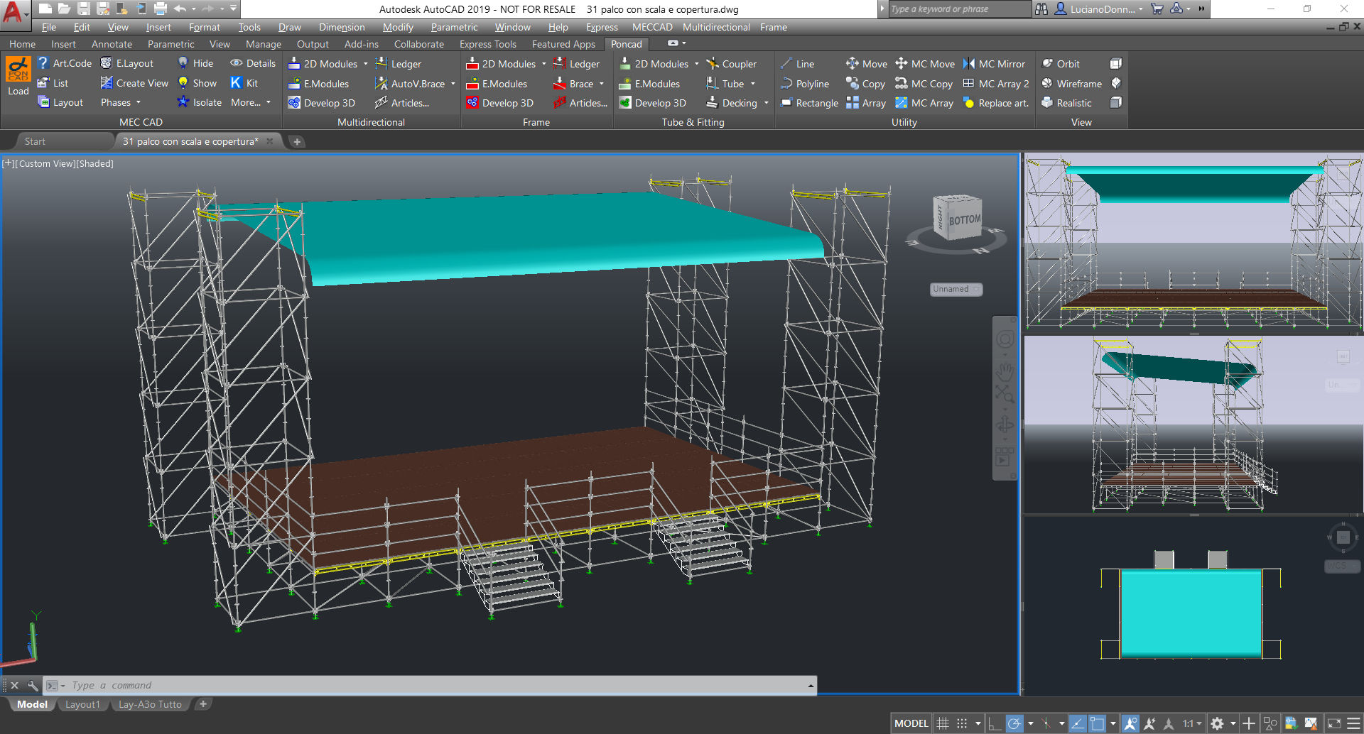 Software for plan stages covers and forums design pon cad for Roof drawing software