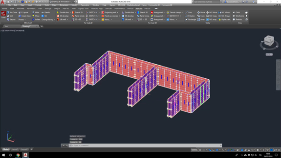 for cad 3d formworks development