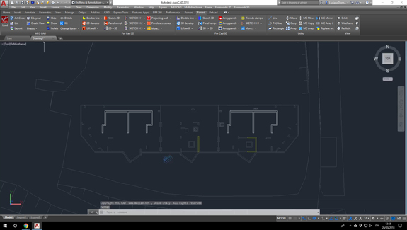 for cad formworks design dwg plan draw