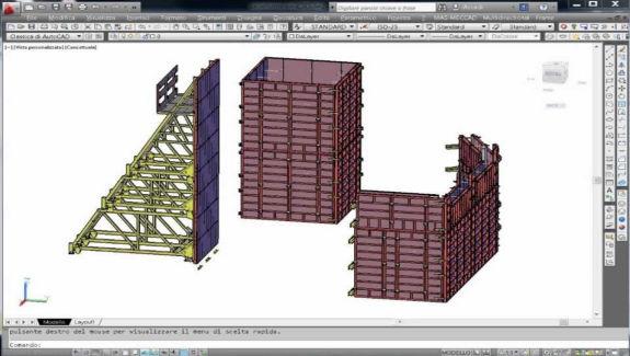 for cad software formworks design software