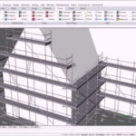 pon cad house scaffolding wizard 3D