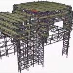 pon cad industrial maintenance scaffolding software 3d