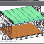 pon cad stages design software 3D