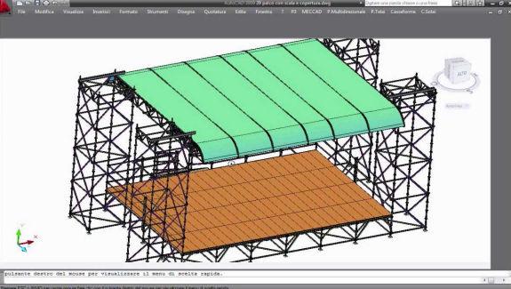 pon cad stages design software