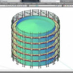 pon cad ringlock scaffolding software 3D