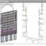 scaffolding gallery PON CAD in milan