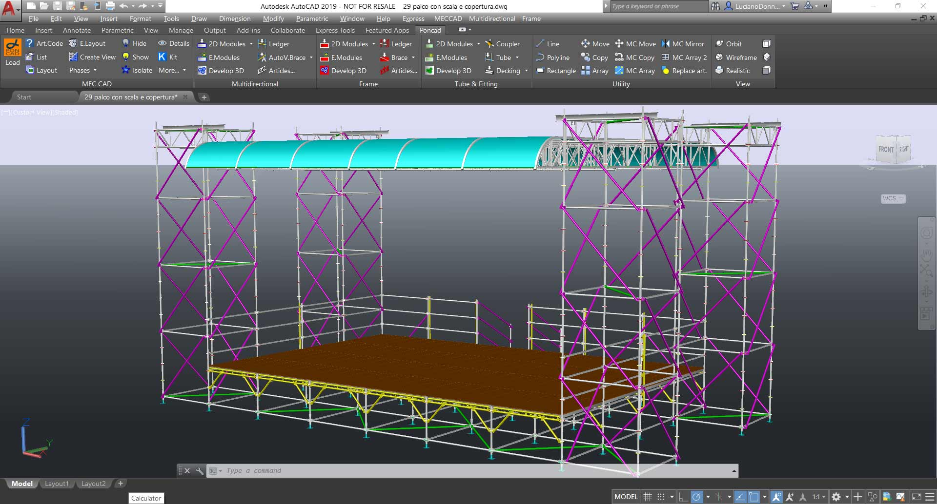 Scaffolding Designer software to Design & Estimate projects
