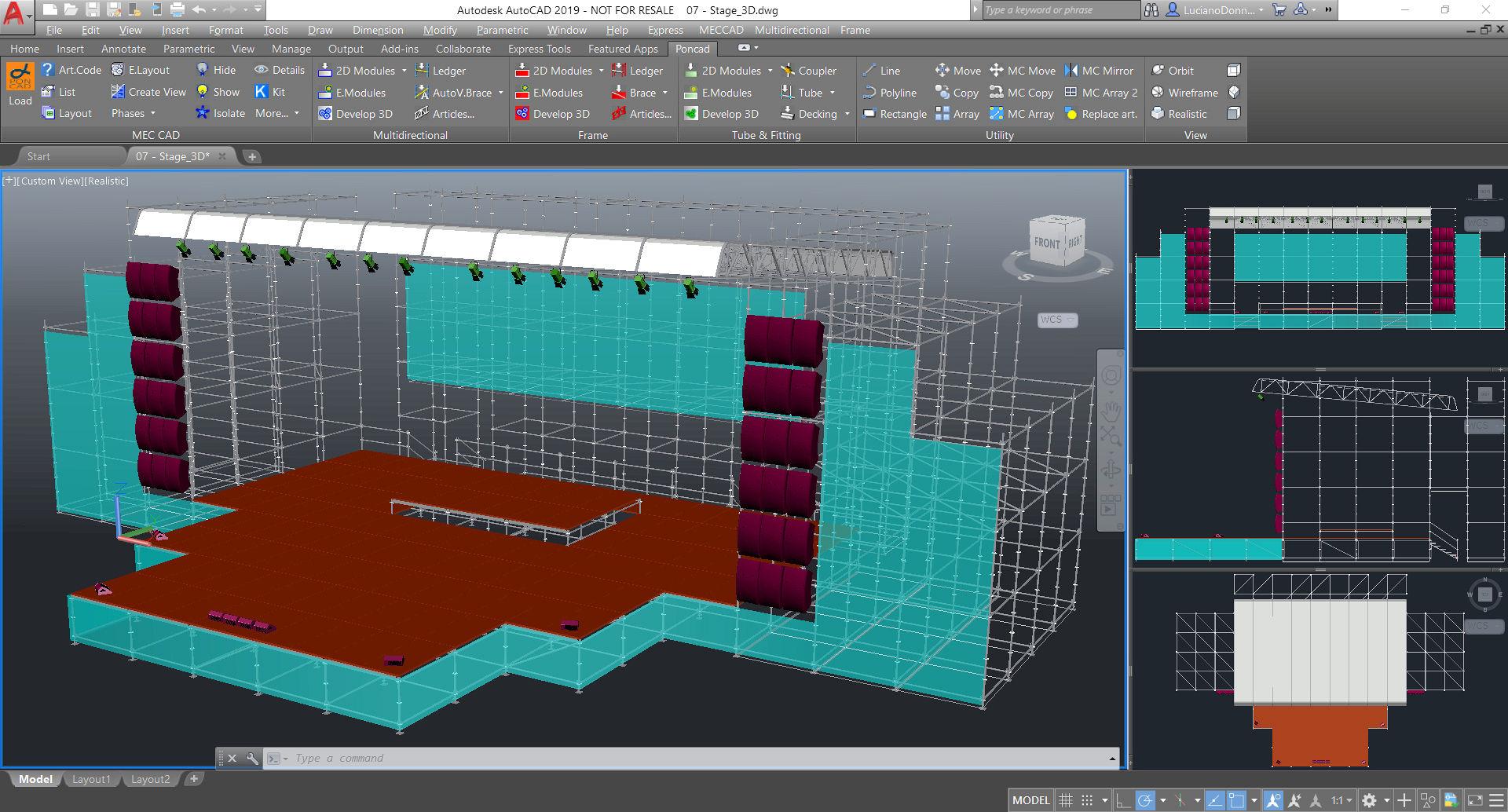 Showbiz Pon Cad Design Software Mec Cad